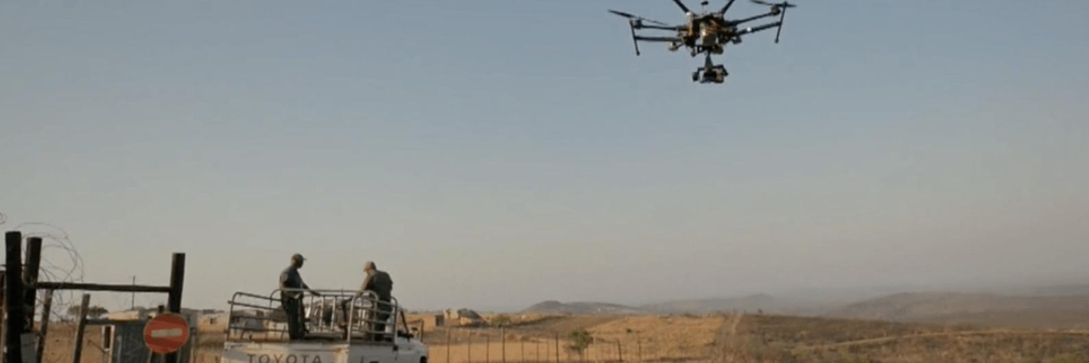 África: caçadores furtivos são as presas dos novos drones da Lindbergh Foundation