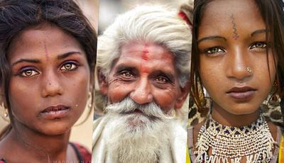 Fotógrafa polaca viaja pela Índia para mostrar a beleza única da população local. As fotos são apaixonantes