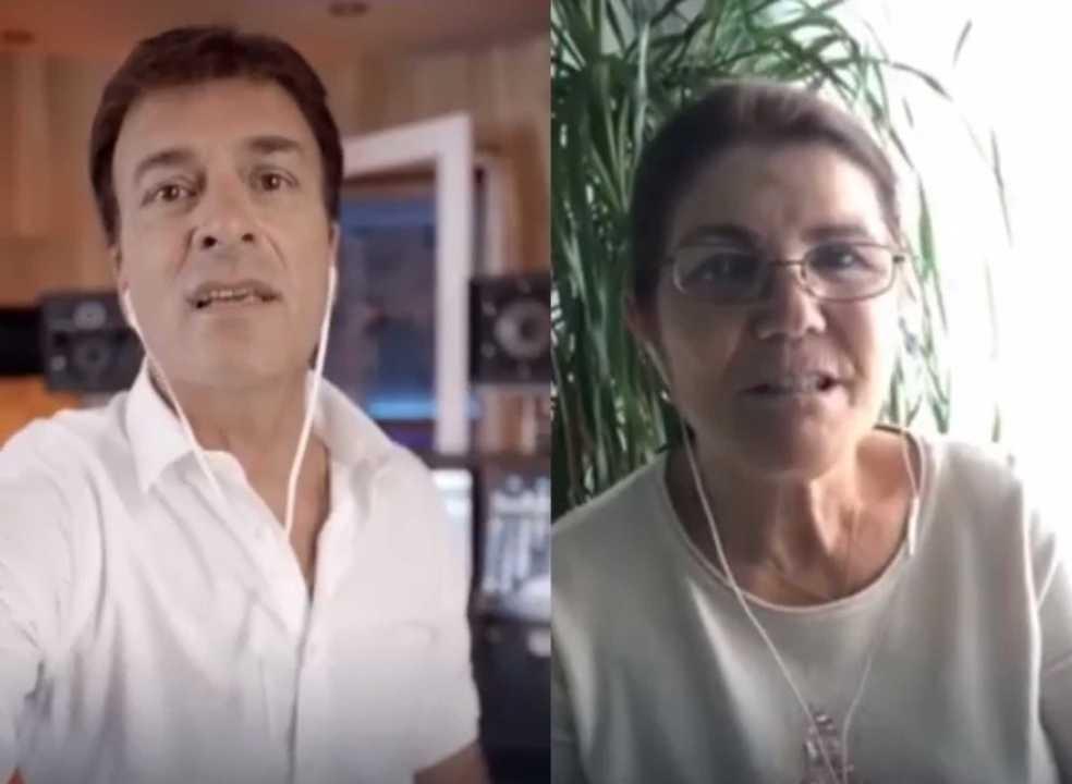 Dolores Aveiro aventura-se em cantorias juntamente com Tony Carreira