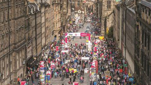 Humor: Edimburgo 'Fringe' que tudo é possível