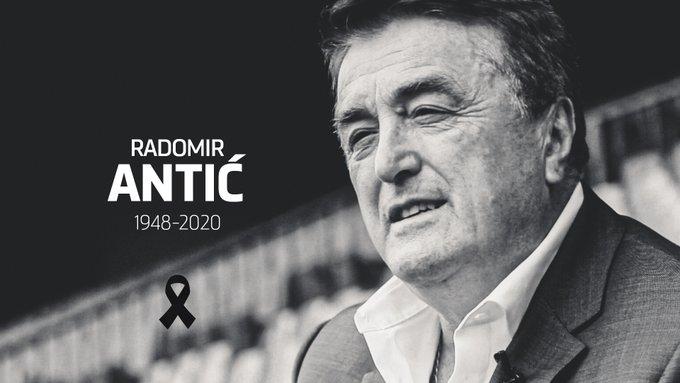 Radomir Antic, antigo treinador de Atlético, 'Barça' e Real, faleceu aos 71 anos