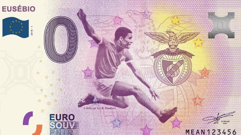 Eusébio remata e… chega à nota de zero euros