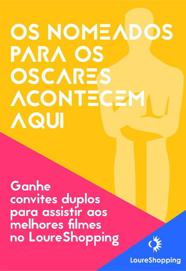 """""""Os nomeados para os Óscares acontecem aqui"""": ganhe bilhetes duplos para os melhores filmes no LoureShopping"""