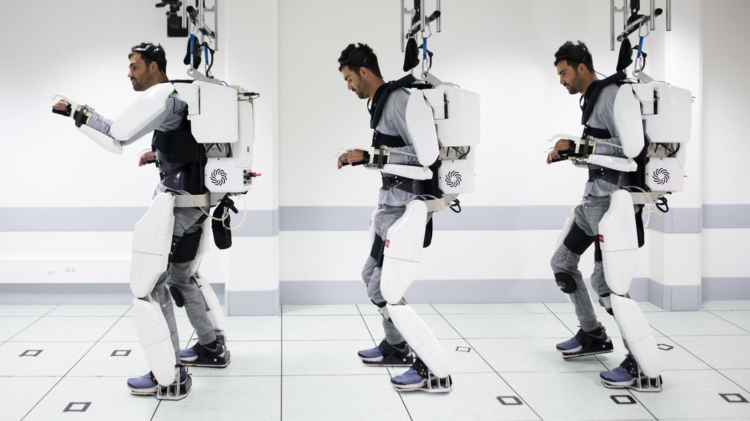 O que é um exoesqueleto e para que serve?