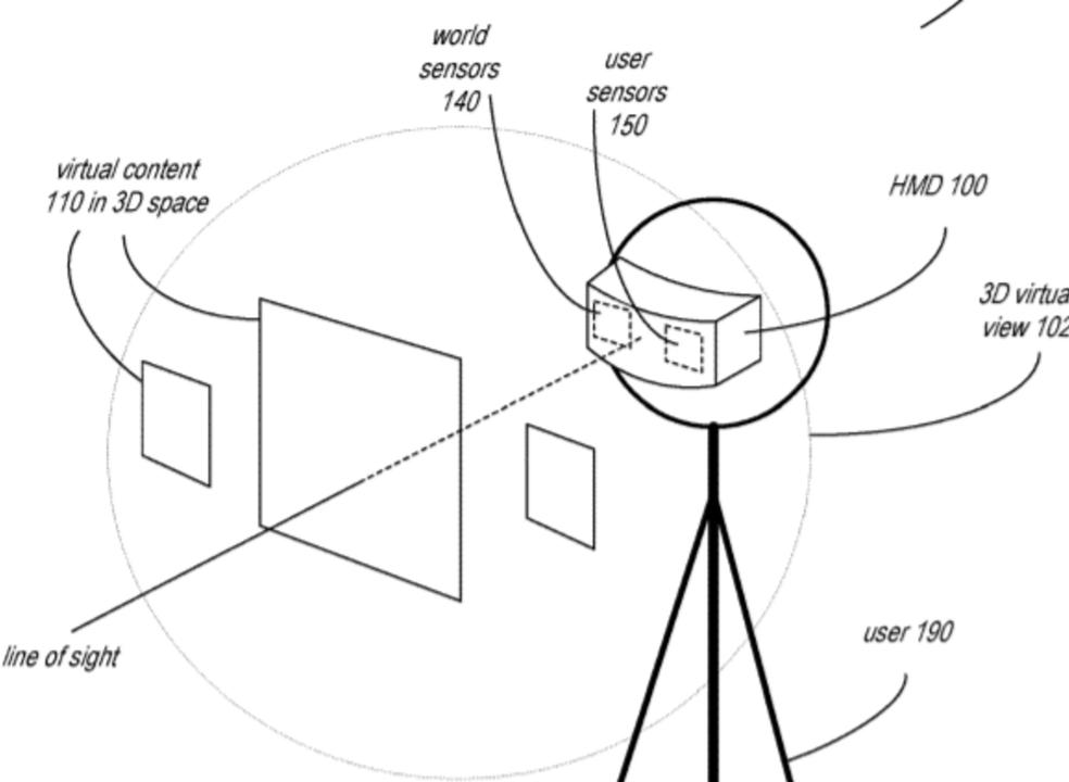 Óculos da Apple podem monitorizar olhos, expressões faciais e gestos