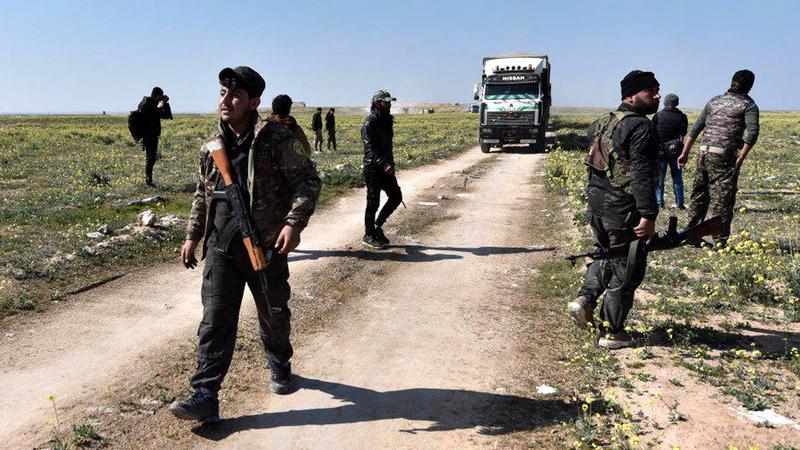 """Forças Democráticas Sírias anunciam fim do """"califado"""" do autoproclamado Estado Islâmico na Síria"""