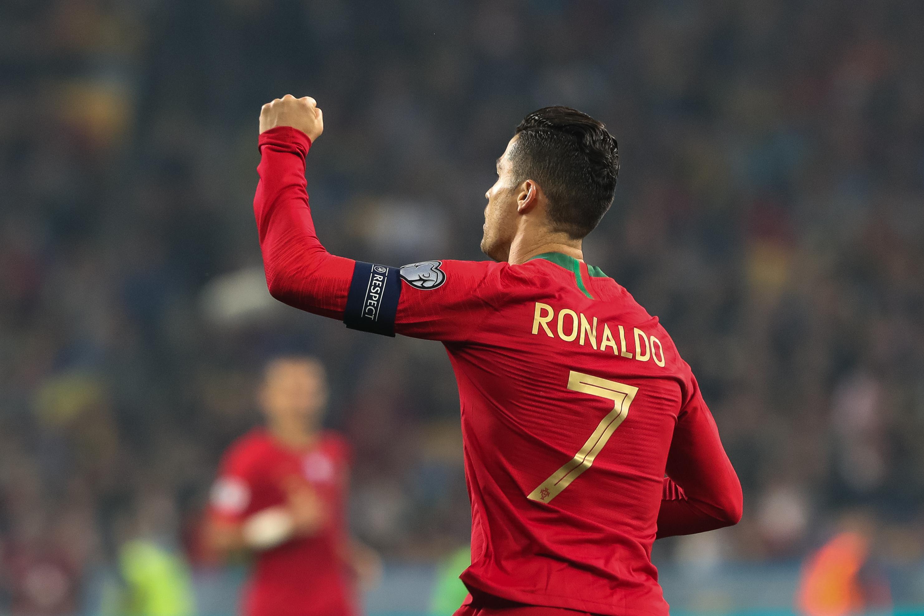Cristiano Ronaldo somou 95.º golo por Portugal