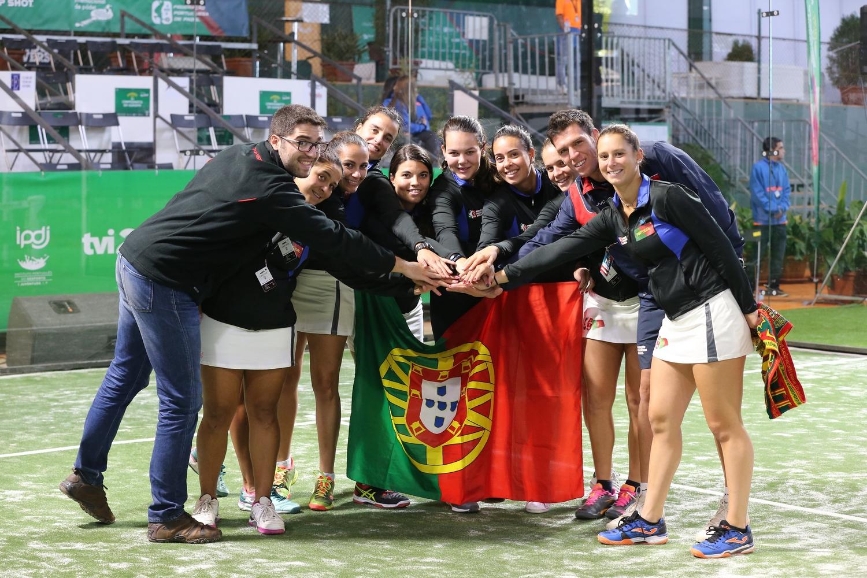 Filipa Mendonça e Catarina Nogueira perdem final dos Europeus de padel