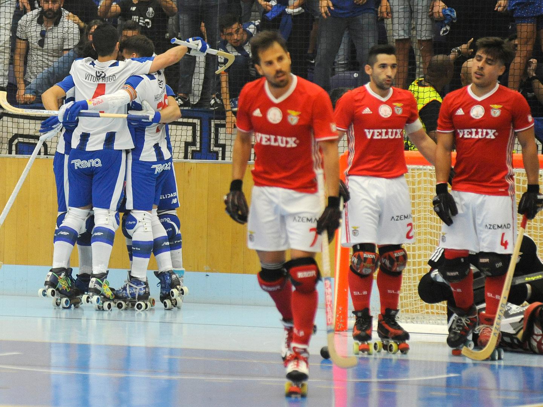 Benfica não vai comparecer na 'final four' da Taça de Portugal de hóquei em patins