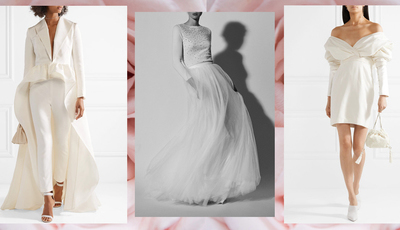 Vestidos para noivas nada tradicionais