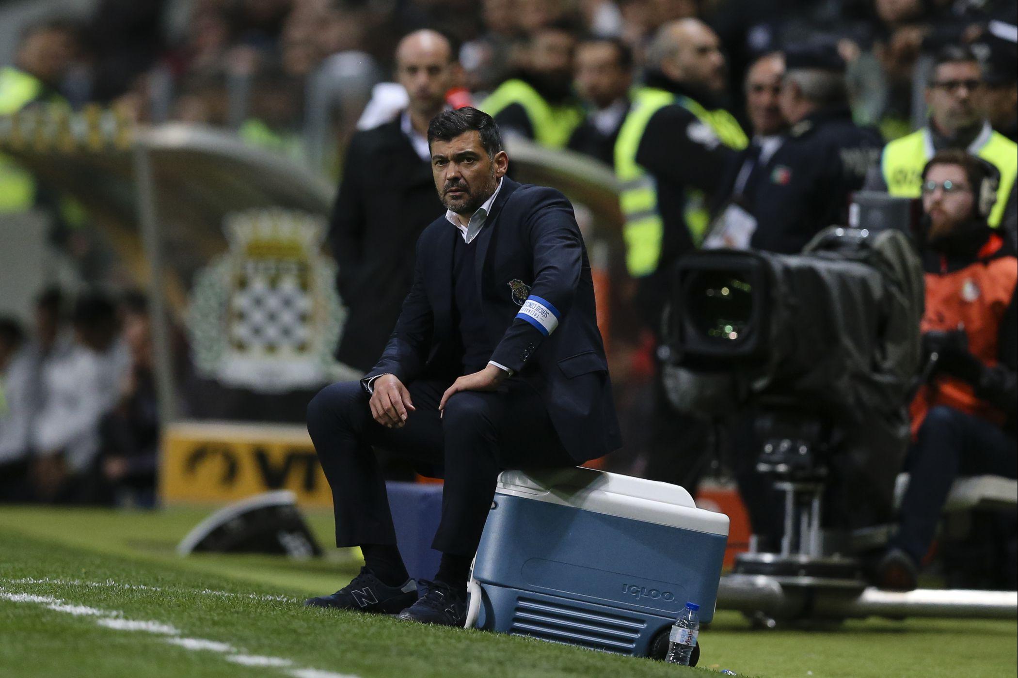 FC Porto: Sérgio Conceição faz cinco alterações para o Santa Clara em relação ao onze de Istambul