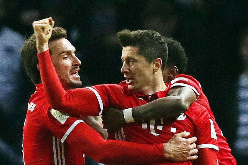 Bayern Munique atropela Hamburgo e vence por oito golos