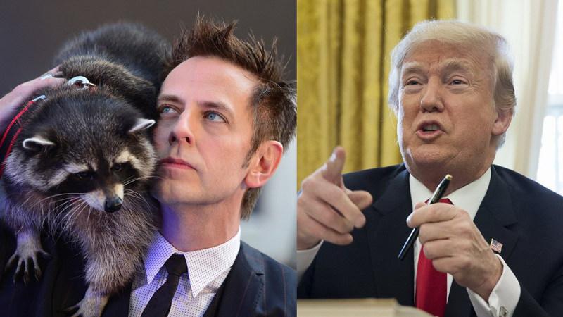 "Realizador de ""Guardiões da Galáxia"" promete doar 100 mil dólares se Trump se pesar numa balança"
