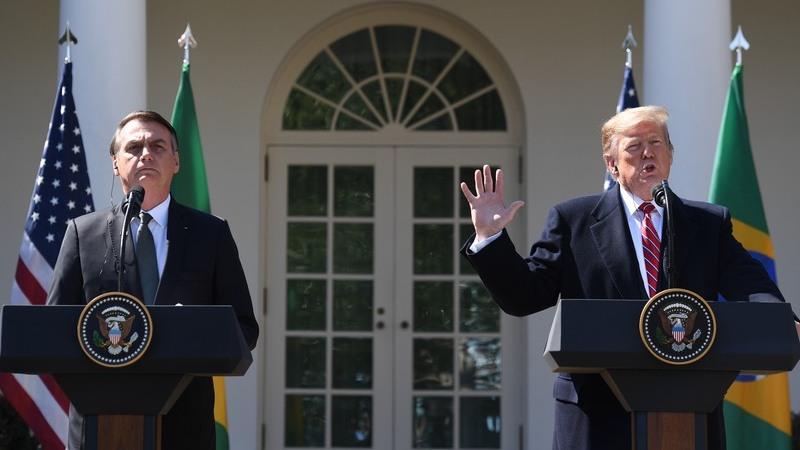Donald Trump quer Brasil como aliado na NATO