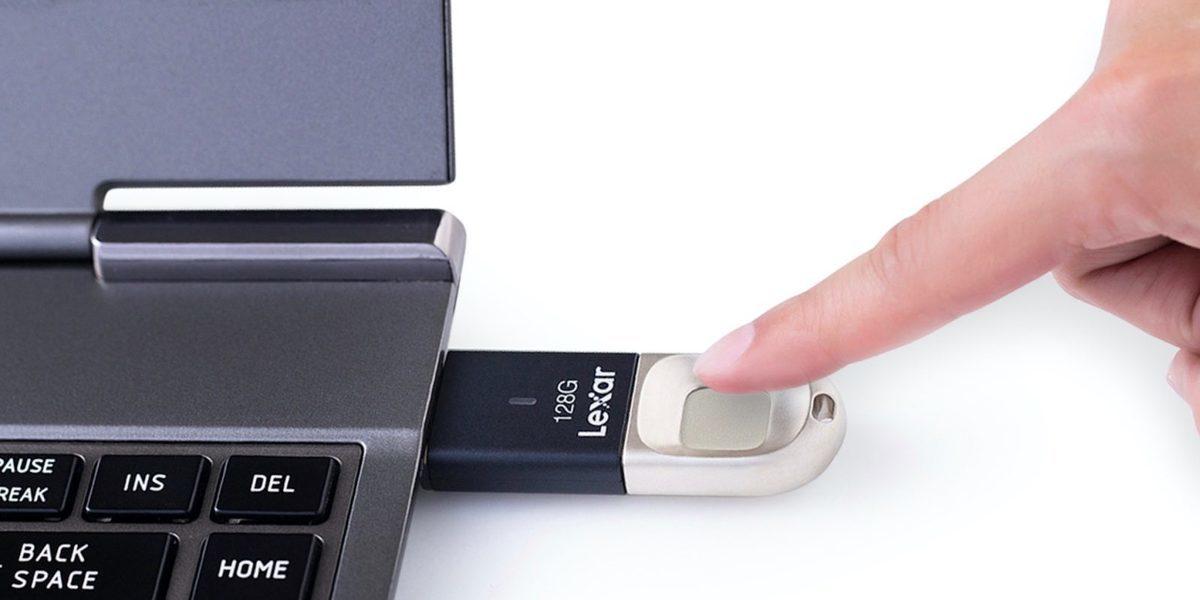Lexar lança pen USB com leitor para impressões digitais