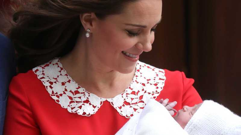 Mulheres comparam-se a Kate Middleton… horas após o parto