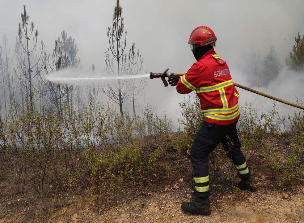 Proteção Civil: 90% do incêndio em Mação e Vila de Rei está em fase de resolução