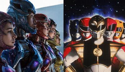 """""""Power Rangers"""": Quem são os novos e como estão os primeiros super-heróis"""