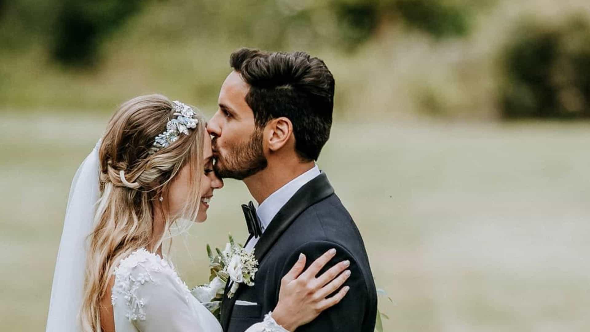 Sofia Arruda celebrou assim os seus dois anos de casamento