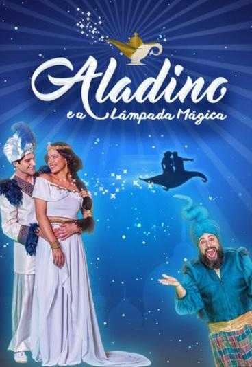 """Ganhe 1 bilhete duplo para a peça """"Aladino e a lâmpada mágica"""""""