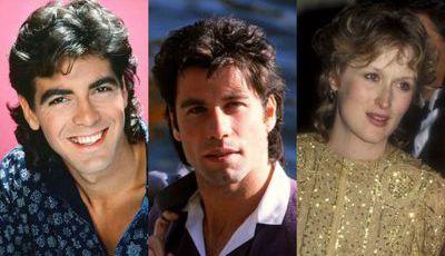 Assim eram os famosos nos anos 80