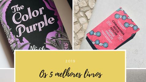 Os 5 melhores livros de 2019