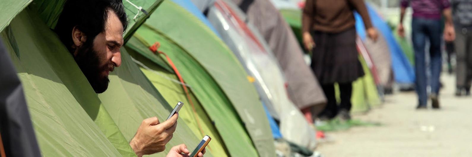 """Techfugees. """"A tecnologia pode ser muito poderosa. Se não a usarmos, usam-na os traficantes"""""""