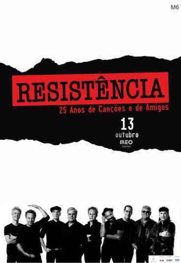 Resistência: 25 anos de canções e de amigos