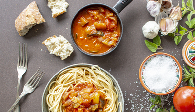 Esparguete com vegetais, a receita do Chef Rui Ribeiro