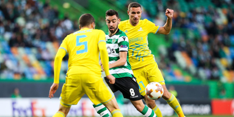 Liga Europa: Dois portugueses no melhor onze da jornada