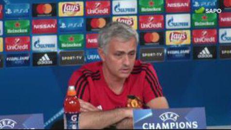 José Mourinho recorda o início de carreira no Benfica