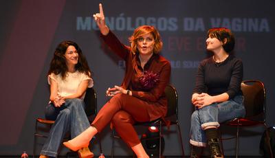 """""""Monólogos da Vagina"""": Júlia Pinheiro estreia-se como atriz no teatro"""