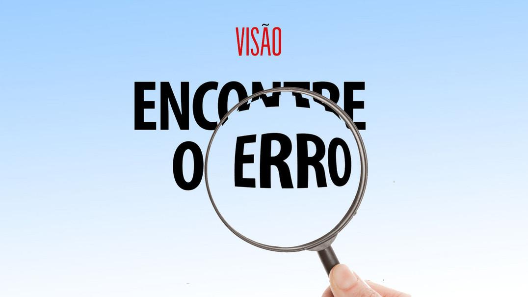 Mais uma semana, mais um desafio: tem 10 segundos para descobrir o erro de português nesta frase