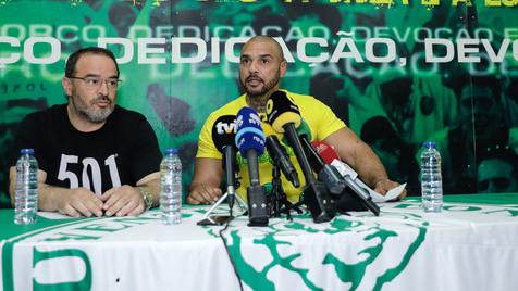 Juventude Leonina demarca-se da invasão à Academia do Sporting