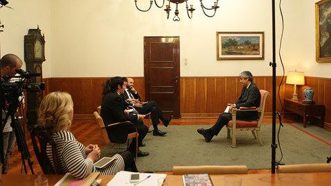 """Entrevista a Mário Centeno: """"Este é o Orçamento deste Governo e é o que vamos executar"""""""