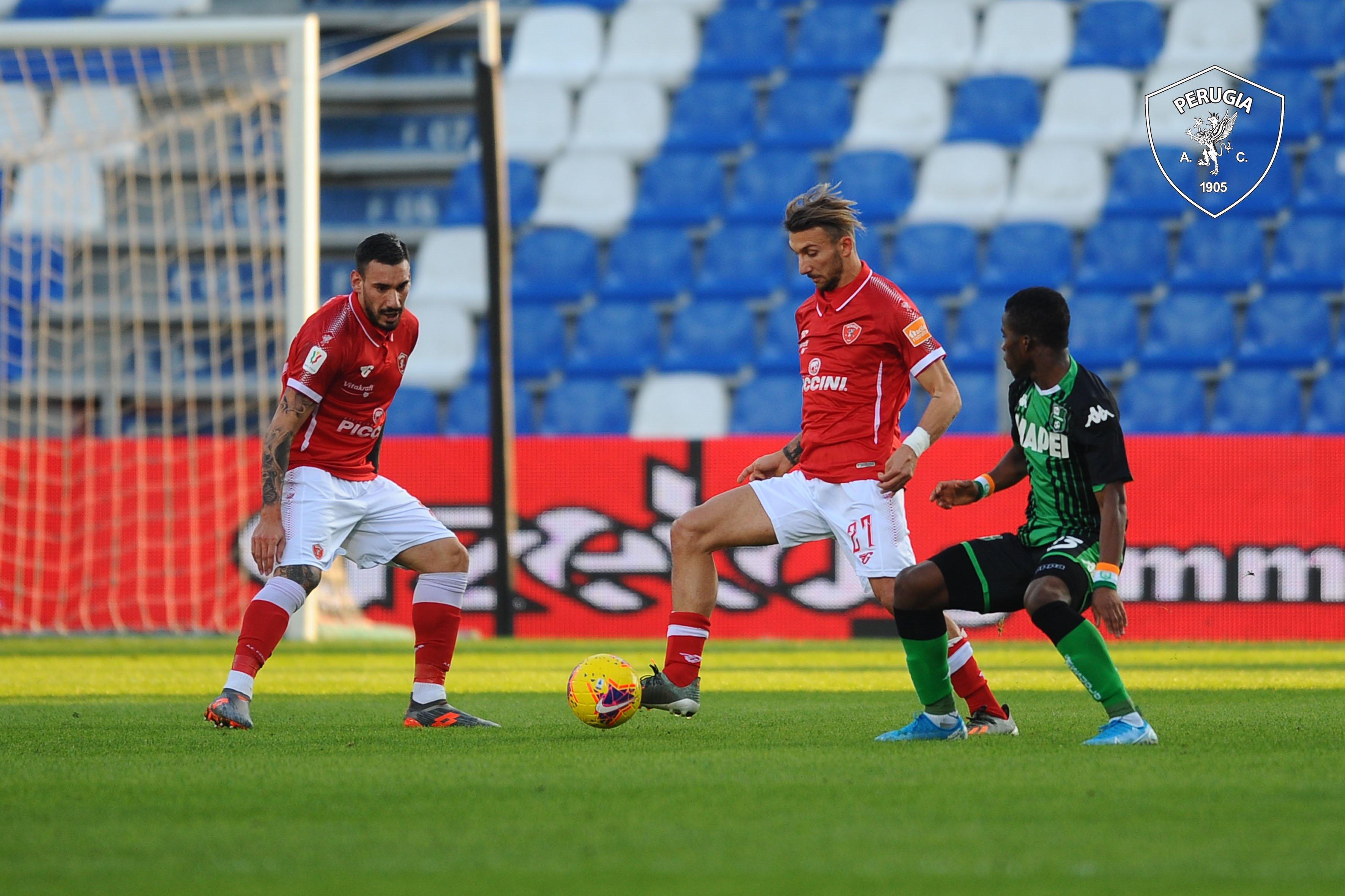 Taça de Itália: Perugia afasta Sassuolo e segue com SPAL e Udinese para 'oitavos'