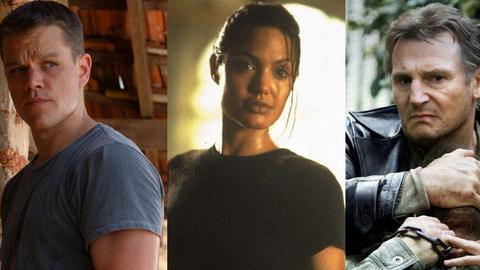 Os heróis de ação com mais pinta do cinema
