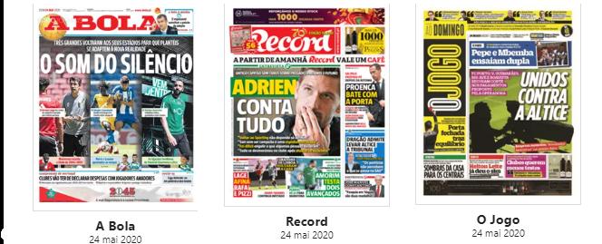 "Revista de Imprensa: O ""Som do Silêncio"" e a entrevista a Adrien"