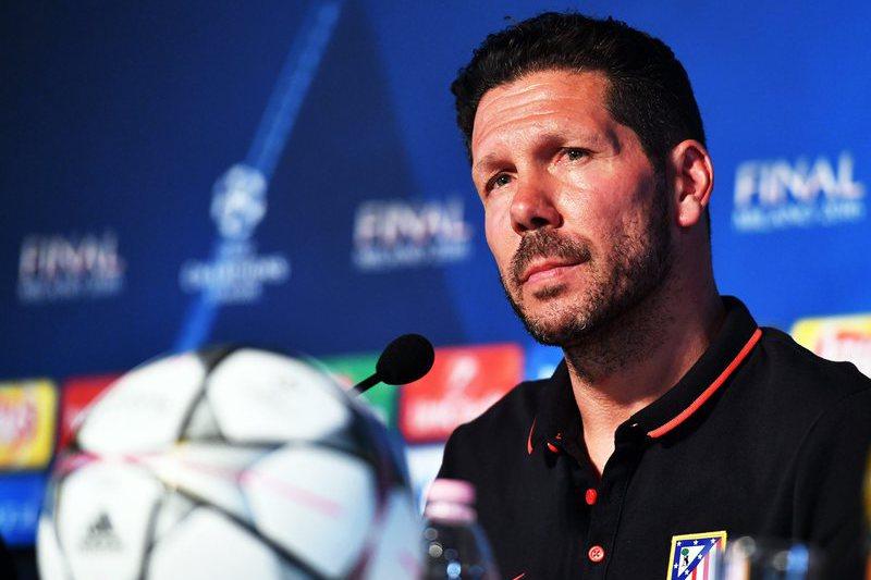 """Simeone """"encantado"""" por jogar a final com a longa história do Atlético nas costas"""