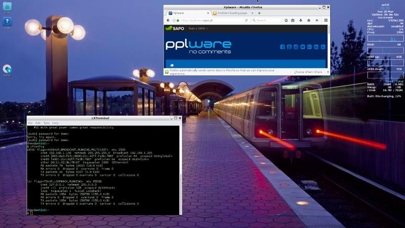 antiX 17.1 – Um Linux que arranca em menos de 10 segundos