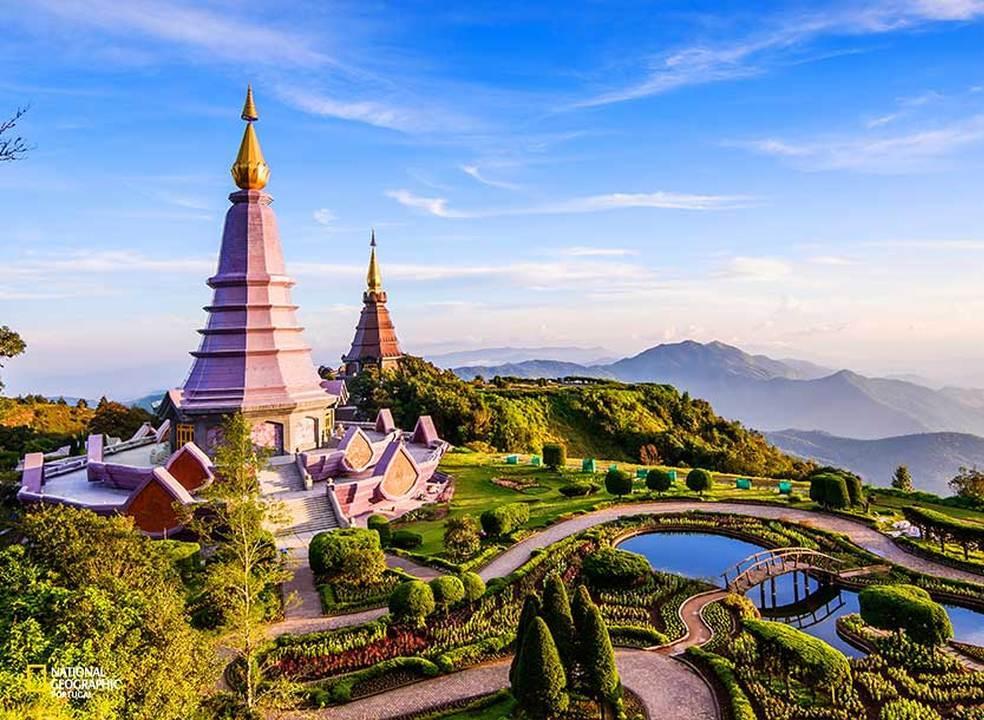 A magia dos palácios e mosteiros da Tailândia
