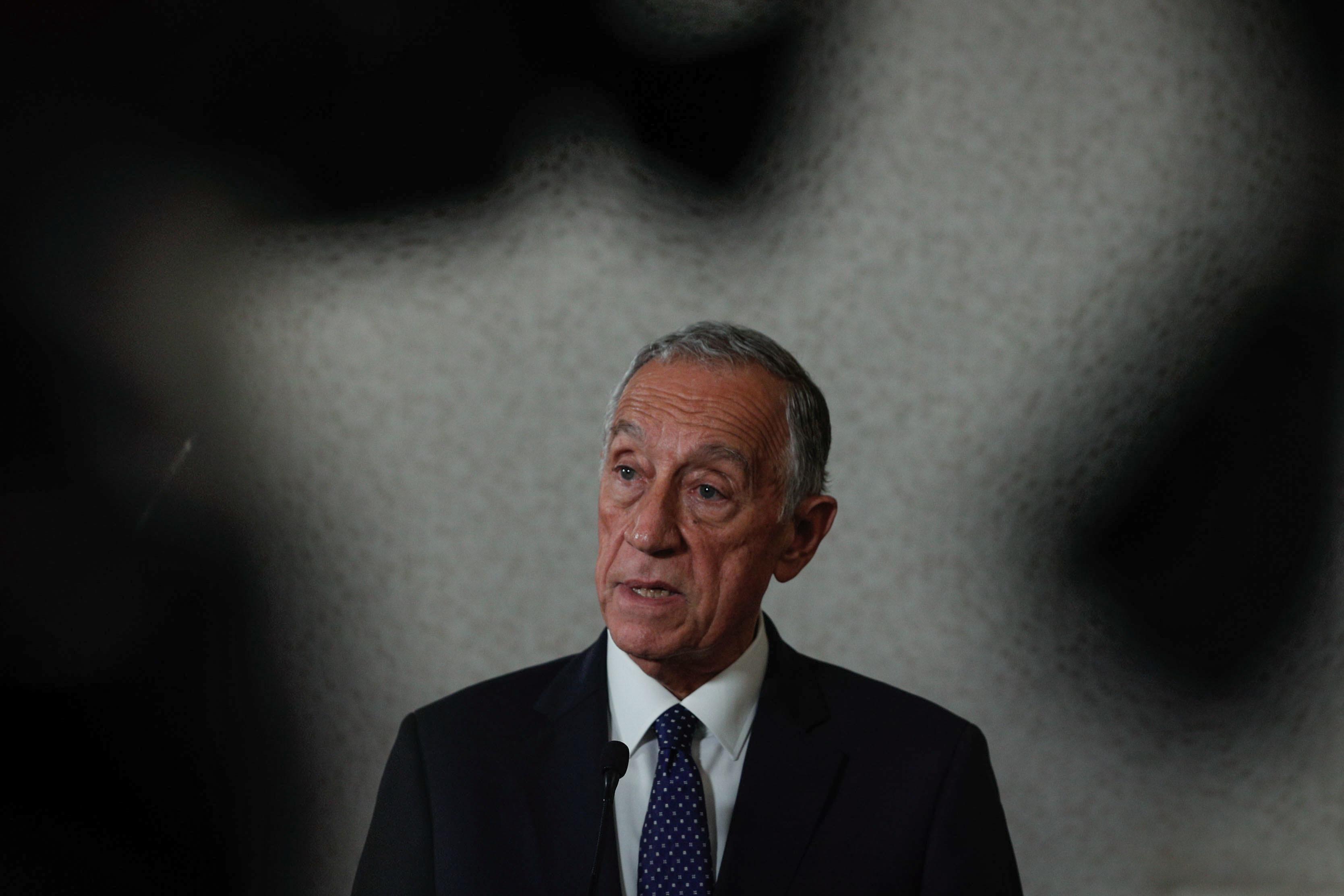 """Marcelo: """"Não se trata de um combate por um grupo de risco, mas por toda a sociedade"""""""