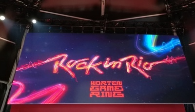 Arena de gaming no Rock in Rio é importante para democratizar videojogos