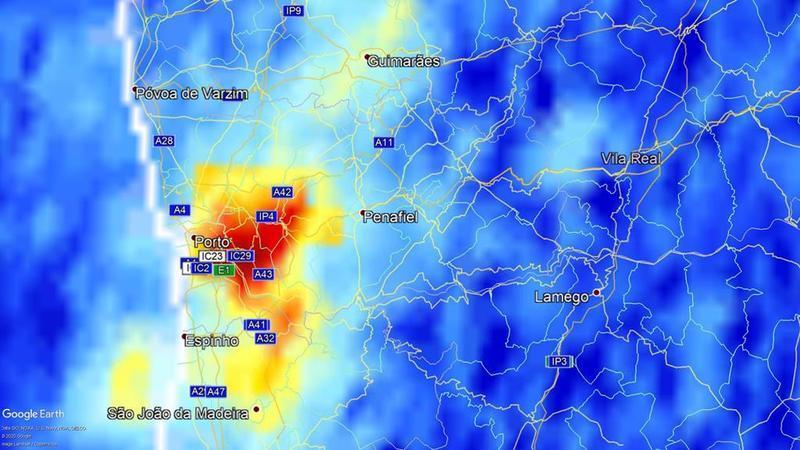 AIR Centre confirma melhoria da qualidade do ar em Portugal durante a pandemia