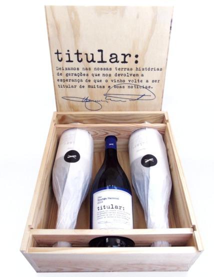 A 19 de março estes vinhos chegam dentro da caixa, mas pensam muito à frente