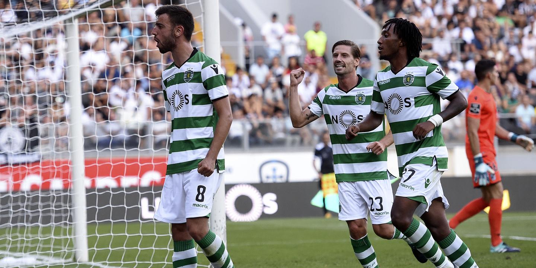 Análise Guimarães 0-5 Sporting: Leão ´trancou` a porta e armou nova dupla para a caça ao golo