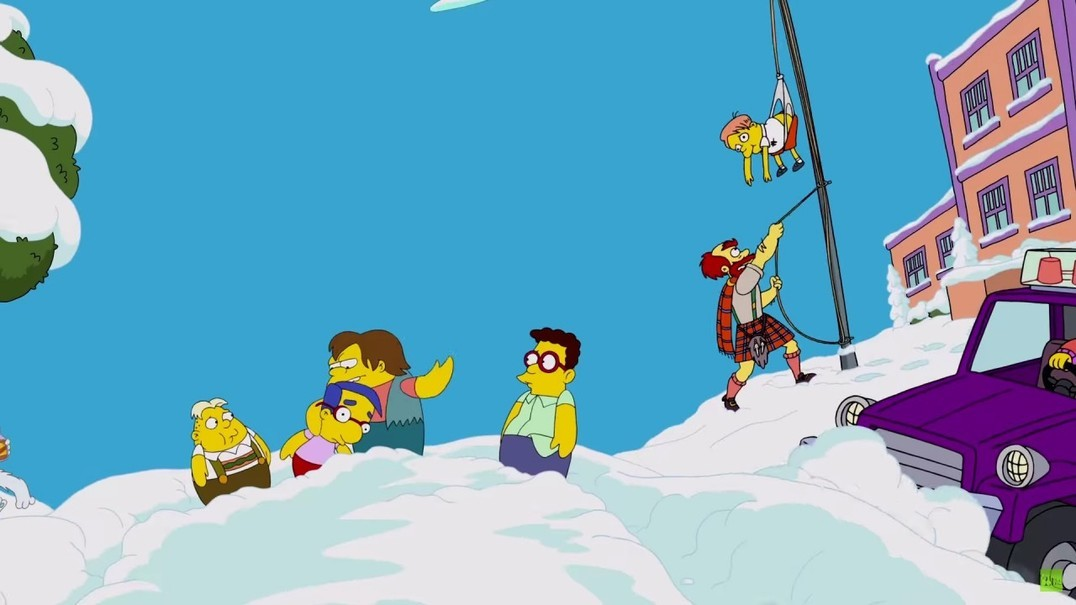 """Simpsons encontram-se com personagens de """"Adventure Time"""""""
