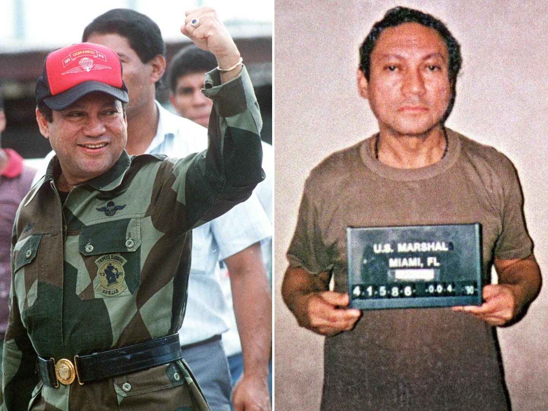 Noriega. O ditador, aliado dos Estados Unidos, cúmplice de Escobar. O fim de um capítulo na história do Panamá