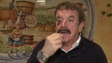Quim Barreiros reage com humor a assalto em Newark