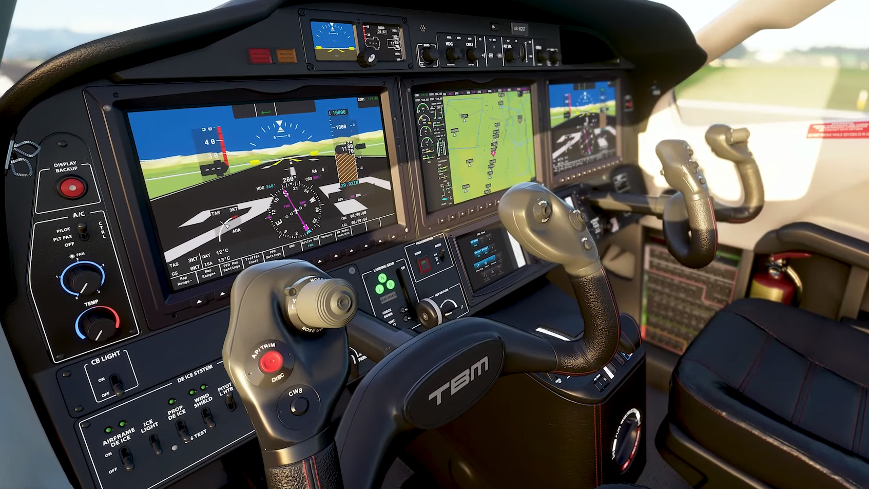 Novo Flight Simulator, imagens do game.